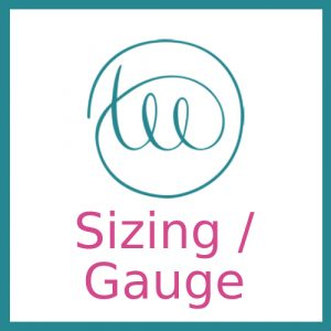 Filter by Sizing / Gauge