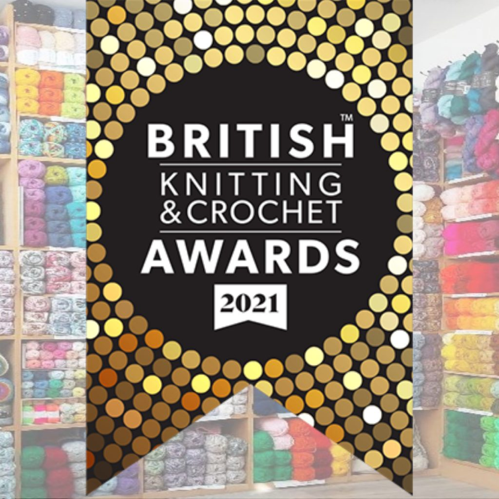 Truro Wool was shortlisted for Best Independent Retailer South West in the 2021 British Knitting & Crochet Awards - thank you for your votes. We will let you know the outcome as soon as we hear.