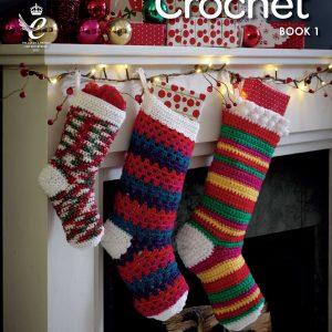 King Cole Christmas Crochet - Book 1