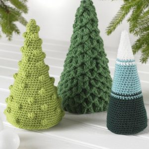 King Cole Christmas Crochet - Book 6 - Trees