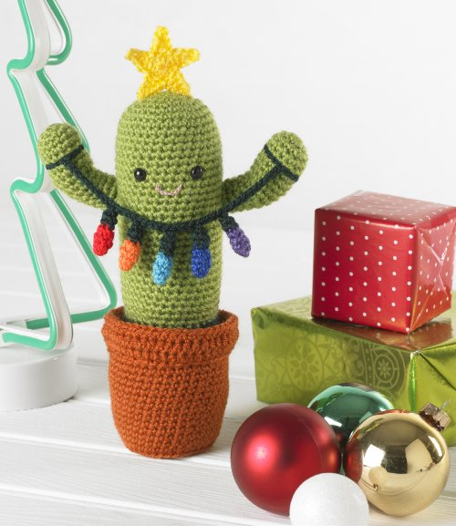 King Cole Christmas Crochet - Book 6 - Cactus