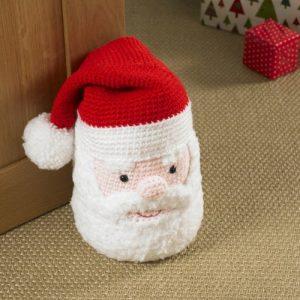 King Cole Christmas Crochet - Book 6 - Santa Doorstop