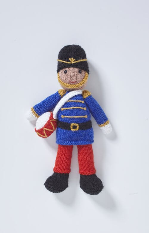 King Cole Christmas Knits - Book 8 - Drummer Boy