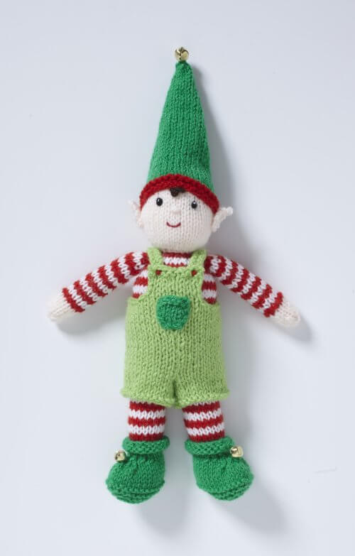 King Cole Christmas Knits - Book 8 - Elf