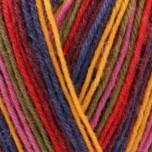 Signature 4 Ply Zandra Rhodes - Zandras Rainbow (1027) - Close up